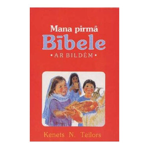 Latvian Children's Bible / 125 stories from the Bible [Hardcover]