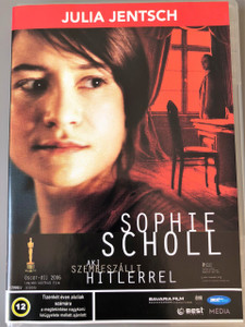 Sophie Scholl - Die letzten Tage DVD 2005 / Sophie Scholl - Aki szembeszállt Hitlerrel / German historical drama film directed by Marc Rothemund and written by Fred Breinersdorfer / The Final Days (5998133170330)