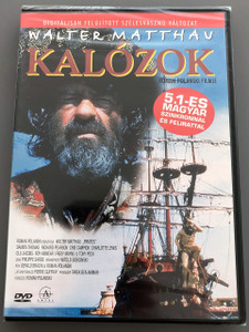 Pirates 1986 DVD Kalózok / Roman Polanski Film / Walter Matthau, Cris Campion, Damien Thomas / ENGLISH and HUNGARIAN Audio / Hungarian Subtitles [European DVD Region 2 PAL] (5999881067842)