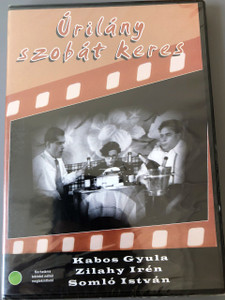 Úrilány szobát keres 1937 DVD Rejtő Jenő / Kabos Gyula, Zilahy Irèn / régi magyar filmek / Lady Seeks a Room is a 1937 Hungarian comedy film directed by Béla Balogh / Hungarian Only Options   UPC 5996051280414