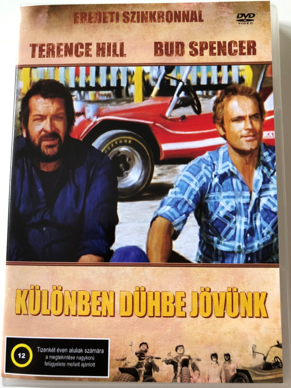 Különben dühbe jövünk DVD 1974 (...altrimenti ci arrabbiamo!) / Watch Out, We're Mad! / Hungarian and italian Audio / Hungarian Subtitle / Directed by Marcello Fondato / Bud Spencer, Terence Hill (5999545583930)