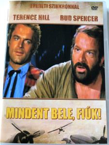 Mindent bele, fiúk! DVD 1972 (...più forte ragazzi!) / All the Way, Boys! / HUNGARIAN ONLY OPTIONS / Bud Spencer, Terence Hill / Director Giuseppe Colizzi (5999545581219)