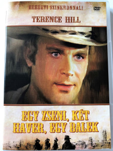 Egy zseni, két haver, egy balek DVD (Un genio, due compari, un pollo) / A Genius, Two Partners and a Dupe / HUNGARIAN ONLY OPTIONS / TERENCE HILL / Directed by Damiano Damiani (5999545581127)