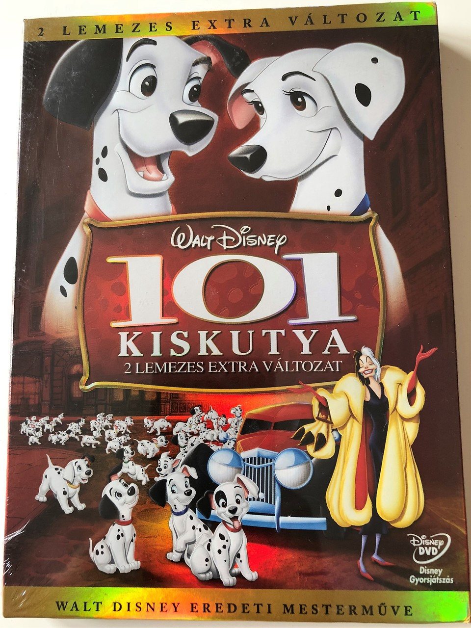 101 Dalmatians One Hundred And One Dalmatians 1961 European Collector S Edition 101 Kiskutya Dvd 2 Disc Extra Valtozat Rajzfilm Walt Disney Productions Story By Bill Peet Bibleinmylanguage