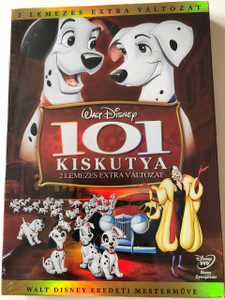 101 Dalmatians / One Hundred and One Dalmatians 1961 / EUROPEAN COLLECTOR'S EDITION / 101 Kiskutya / DVD 2 Disc extra változat rajzfilm / Walt Disney Productions / Story by Bill Peet (5996255726220)
