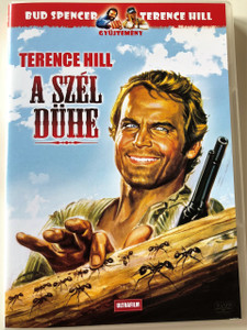 A szél dühe DVD 1970 (La collera del vento) / The Wind's Fierce AKA Revenge of Trinity, The Wind's Anger / TERENCE HILL / Directed by Mario Camus (5999882817668)