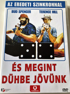 …és megint dühbe jövünk DVD 1978 (Pari e dispari) / HUNGARIAN SUBTITLES ONLY / Starring: Terence Hill Bud Spencer / Directed by: Sergio Corbucci (5999881066838)