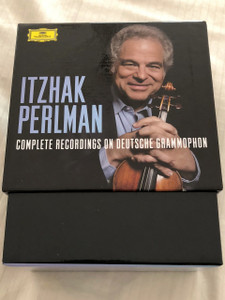 Itzhak Perlman: Complete Recordings on Deutsche Grammophon / International Release 04 May. 2015 / 25 CDs Box set, Limited Edition / Daniel Barenboim, Pinchas Zukerman, Chaim Jouval, Marcel Bergman, Isaac Stern (028947947080)