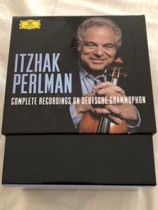 Itzhak Perlman: Complete Recordings on Deutsche Grammophon / International Release 04 May. 2015 / 25 CDs Box set, Limited Edition / Daniel Barenboim, Pinchas Zukerman, Chaim Jouval, Marcel Bergman, Isaac Stern (028947947080)