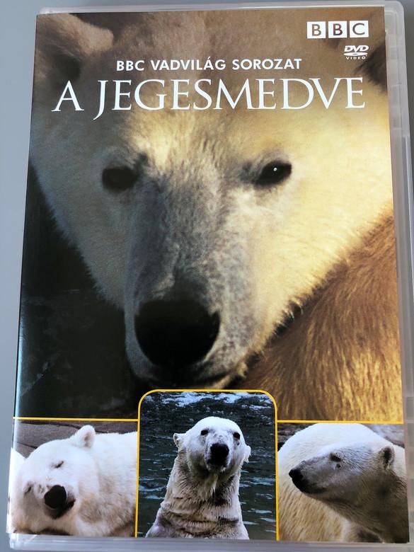 BBC Vadvilág sorozat – Jegesmedve DVD Polar Bear Produced and Written by: Martha Homes / A BBC TV Production / Host: David Attenborough - BBC wildlife (5996473004681)
