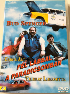 Fél lábbal a Paradicsomban DVD 1990 (Un Piede in paradiso) / Speaking of the Devil / Audio: Hungarian and English / Subtitle: Hungarian Only / Starring: Bud Spencer, Carol Alt and Thierry Lhermitte / Directed by: Enzo Barboni (5999545560412)