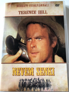 Nevem Senki DVD 1973 (Il mio nome è Nessuno) / My Name Is Nobody / Audio: HUNGARIAN ONLY / Starring: Terence Hill, Henry Fonda and Jean Martin / Directed by: Tonino Valerii