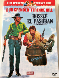 Bosszú El Pasóban DVD 1968 (I quattro dell'Ave Maria) / Ace High / Audio: Hungarian and English / Subtitle: Hungarian / Starring: Eli Wallach, Terence Hill, Brock Peters, Kevin McCarthy, Bud Spencer, Livio Lorenzon and Steffen Zacharias (5999882817651)