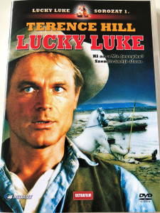 Lucky Luke DVD 1991 / Audio: English and Hungarian / Subtitle: Hungarian and Roman / Starring: Paloma Films and Reteitalia / Directed by: Terence Hill (5999882817330)