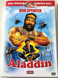 Aladdin DVD 1986 Superfantagenio / Audio: English / Subtitle: Hungarian Starring:	Bud Spencer, Luca Venantini, Janet Agren and Julian Voloshin/ Directed by: Bruno Corbucci (5999882817637)