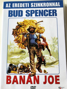Banános Joe DVD 1982 (Banana Joe) / Audio: Hungarian and English / Subtitle: Hungarian Only / Starring: Bud Spencer / Directed by: Stefano Vanzina (5999881066586)