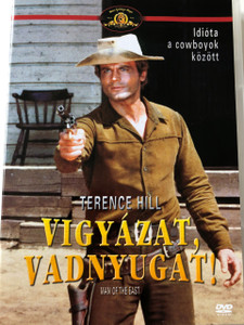 Vigyázat, vadnyugat! DVD 1972 (...E poi lo chiamarono il Magnifico) / Man of the East / Audio: Hungarian and English / Subtitle: Hungarian / Starring: Terence Hill and Gregory Walcott / Directed by: E.B. Clucher (5999546332599)