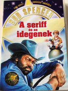 Seriff és az idegenek DVD 1980 (Chissà perché... capitano tutte a me) / Everything Happens To Me / Audio: Hungarian Only / Starring: Bud Spencer, Cary Guffey, Ferruccio Amendola and Claudio Undari / Directed by: Michele Lupo (5999545581233)