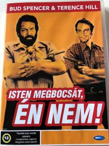 Isten megbocsát, én nem DVD 1967 (Dio perdona… Io no!) / God Forgives... I Don't! / Audio: Hungarian and German / Főszerepben: Terence Hill, Bud Spencer and Frank Wolff / Rendező: Giuseppe Colizzi (5998133167835)