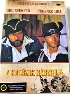 Kalózok háborúja DVD 1971 (Il corsaro nero) / Blackie the Pirate / Audio: Hungarian and Italian / Starring: Terence Hill, George Martin, Silvia Monti and Bud Spencer / Directed by: Enzo Gicca (5999545583947)