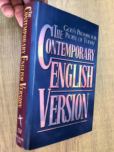 The Contemporary English Version Bible / CEV Nelson 3262 / God's Promise for People of Today / PRINTED IN THE UNITED STATES OF AMERICA (9780840719584)