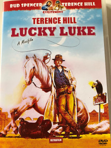 Lucky Luke DVD 1991 / Audio: English and Hungarian / Subtitle: Hungarian / Starring: Paloma Films and Reteitalia / Directed by: Terence Hill (5999882817781)