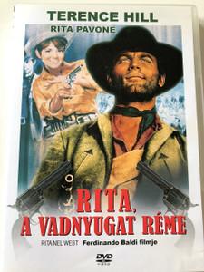 Rita, a vadnyugat réme DVD 1667 / Audio: Hungarian and Italian / Subtitle: Hungarian / RENDEZŐ: Ferdinando Baldi / ZENESZERZŐ: Robby Poitevin / (5999883341087)