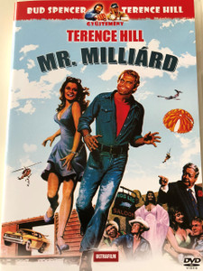 Mr. Milliárd DVD 1977 (Mr. Billion) / Audio: Hungarian and English / Subtitle: Hungarian / Starring: Terence Hill, Valerie Perrine, Jackie Gleason, Slim Pickens, William Redfield and Chill Wills / Directed by: Jonathan Kaplan (5999882817811)