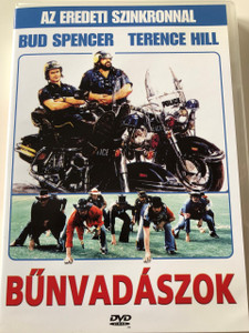 Bűnvadászok DVD 1977 (I due superpiedi quasi piatti) / Crime Busters / Audio: Hungarian and English / Subtitle: Hungarian Only / Starring: Terence Hill, Bud Spencer, David Huddleston and Luciano Catenacci / Directed by: Enzo Barboni (5999881066562)