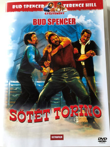 Sötét Torino DVD 1972 (Torino nera) / Black Turin / Audio: Hungarian and Italian / Subtitle: Hungarian / Starring: Nicola Di Bari, Bud Spencer, Andrea Balestri and Domenico Santoro / Directed by	Carlo Lizzani (5999882817804)