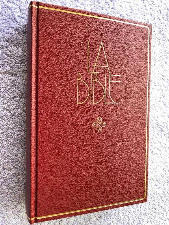 French Bible / La Bible Ancien et Nouveau Testament / Traduit du grec et de l'hébreu en français courant / 1994 Print FCH063 Size (2853001105)