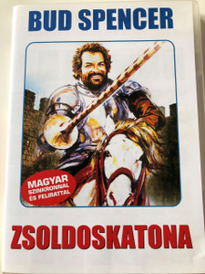 Zsoldoskatona DVD 1975 (Il soldato di ventura) / Soldier of Fortune / Audio: Hungarian and Italian / Subtitle: Hungarian / Starring: Bud Spencer / Directed by: Pasquale Festa Campanile (5999553601213)