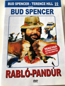 Rabló-pandúr DVD 1982 (Cane e gatto) / Cat and Dog / Audio: Hungarian and Italian / Subtitle: Hungarian / Starring: Bud Spencer and Tomas Milian / Directed by: Bruno Corbucci (5999553601879)