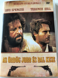 Az ördög jobb és bal keze DVD 1970 (Lo chiamavano Trinità...) / They Call Me Trinity / Audio and Subtitle: Hungarian Only / Starring: Terence Hill and Bud Spencer / Directed by: Enzo Barboni (5999545581189)