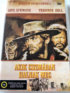Akik csizmában halnak meg DVD 1969 (La collina degli stivali) / Boot Hill / Audio: Hungarian and Italian / No Subtitles / Starring: Terence Hill, Victor Buono, Bud Spencer, Lionel Stander and Eduardo Ciannelli / Directed by: Giuseppe Colizzi (5999545583084)