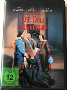 The Three Musketeers (1948 film) / Die drei Musketiere / Director : George Sidney  / Starring : Lana Turner, Gene Kelly, June Allyson
