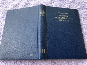 NUEVO TESTAMENTO GRAECE NOVUM / Ancient Greek (Nestle-Aland 27th Edition) New Testament