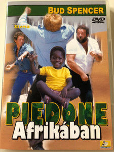 Piedone Afrikában DVD 1978 (Piedone l'africano) / Flatfoot in Africa / Audio: Hungarian and Italian / Starring	Bud Spencer, Enzo Cannavale and Dagmar Lassander / Directed by: Steno (5999545560115)