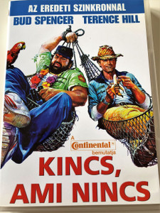 Kincs, ami nincs DVD 1981 (Chi trova un amico, trova un tesoro) / Who Finds a Friend Finds a Treasure / Audio: Hungarian and English / Starring: Terence Hill and Bud Spencer / Directed by: Sergio Corbucci (5999882066388)
