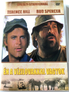 Én a vízilovakkal vagyok DVD 1979 (Io sto con gli ippopotami) / I'm for the Hippopotamus / Audio: Hungarian / Subtitle: None / Starring: Terence Hill, Bud Spencer, and Joe Bugner / Directed by: Italo Zingarelli (5999545581226)