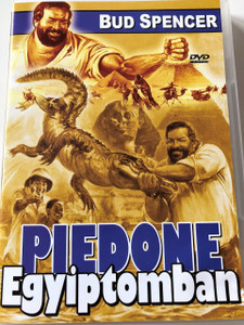 Piedone Egyiptomban DVD 1980 (Piedone d'Egitto) / Flatfoot in Egypt / Audio: Hungarian and Italian / Subtitle: None / Starring: Bud Spencer, Enzo Cannavale, and Angelo Infanti / Directed by: Steno (5999545560122)