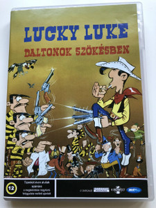 Lucky Luke – Szökésben a Daltonok DVD 1983 (Les Dalton en cavale) / Audio: Hungarian and French / Hang/Starring: Jacques Balutin, Roger Carel, Bernard Haller and Pierre Trabaud / Rendező/Director: Morris, William Hanna, Joseph Barbera and Ray Petterson (5998133180230)