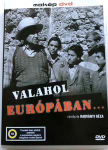 Valahol Európában DVD 1948 Somewhere in Europe / Audio: Hungarian / Subtitle: English / Starring: Artúr Somlay and Miklós Gábor / Directed by: Géza von Radványi (5996357312888)