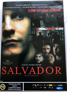 Salvador (Puig Antich) DVD 2006 / Audio: Hungarian and Spanish / Subtitle: Hungarian / Starring: Daniel Brühl, Tristán Ulloa, Leonardo Sbaraglia, Leonor Watling, and Ingrid Rubio / Directed by: Manuel Huerga (5998133183637)
