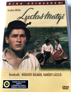Ludas Matyi DVD 1949-1950 Mattie the Goose-boy / Audio: Hungarian / Subtitle: English and Hungarian / Starring: Imre Soós and Erzsi Pártos / Directed by: Zoltán Fábri (5996357312895)