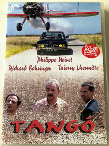 Tango DVD 1993 French Film / Directed by Patrice Leconte / Philippe Noiret, Richard Bohringer, Thierry Lhermitte, Carole Bouquet, Jean Rochefort /  Writers: Patrice Leconte, Patrick Dewolf / Producers: Philippe Carcassonne, René Cleitman