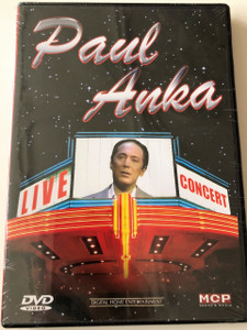 Paul Anka DVD Live In Concert