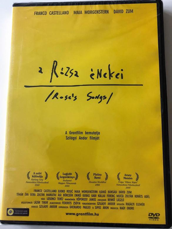 A Rózsa énekei DVD 2003 Rose's Songs / Directed by Szilágyi Andor / Grantfilm kiadás / Starring: Franco Castellano, David Zum, Ildikó Bánsági, Djoko Rosic (5999541752156)