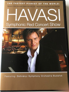 Havasi Balázs: Symphonic Red Concert Show DVD / The Fastest Pianist of the World