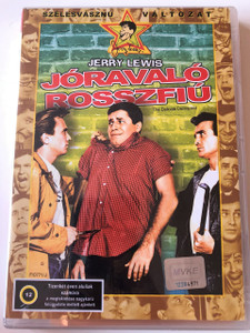 The Delicate Delinquent DVD 1957 Jóravaló rosszfiú / Directed by Don McGuire / Produced by Jerry Lewis / Written by Don McGuire, Jerry Lewis / Starring: Jerry Lewis, Darren McGavin, Martha Hyer (5996255715323)
